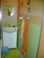 koupelnička - miluju prostě svěží zelenou barvu :-D