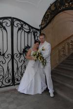 zamilovaní novomanželé