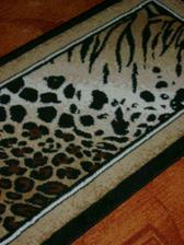 africký koberec v PC koutku