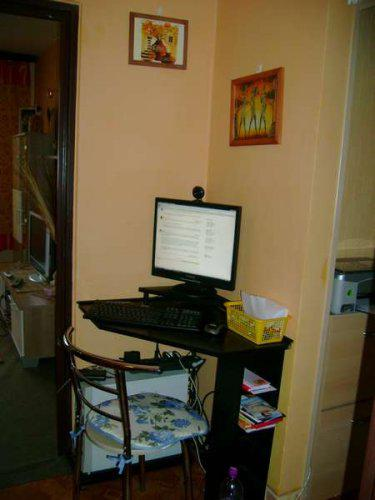 Náš malý byteček - už je to uděláno už je to hotovo :-) - PC kouteček - tak tady koníkuju, nakupuju atd...
