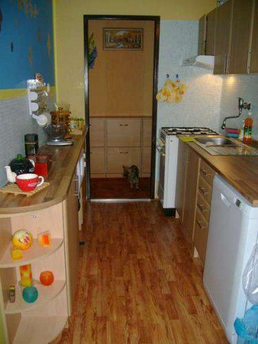 Náš malý byteček - už je to uděláno už je to hotovo :-) - kuchyně