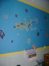 náš výtvor stěna kuchyně