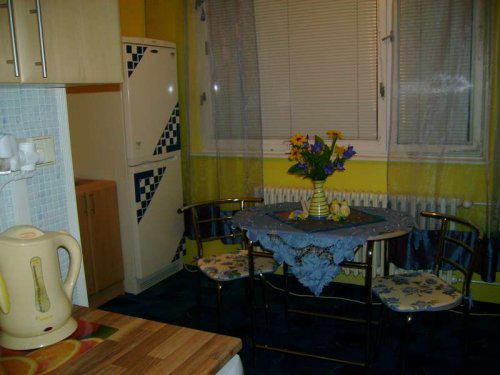 Náš malý byteček - už je to uděláno už je to hotovo :-) - pohled do jídelky