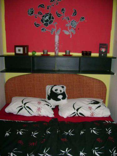 Náš malý byteček - už je to uděláno už je to hotovo :-) - naše ložnička, mala ale útulná