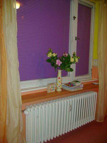 Náš malý byteček - už je to uděláno už je to hotovo :-) - okno u Jájinky
