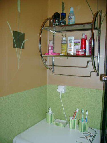 Náš malý byteček - už je to uděláno už je to hotovo :-) - zatím nemáme umyvadlo a zrcadlo takže máme kartáčk atd...na pračce