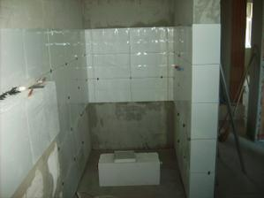 tu bude sprchový kút