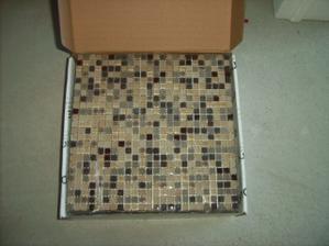 mozaika...........vymyslela som si ju do sprchového kúta