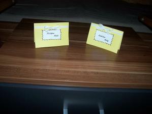 jmenovky na stůl-moje výroba