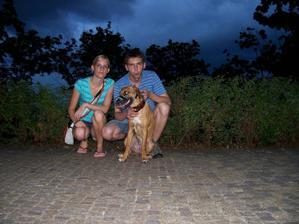 všichni tři dohromady :)budoucí rodina Kobližkových