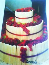 to je výherce!to je náš objednaný dort!náš srdce šampion:) foceno mobilem v cukrárně