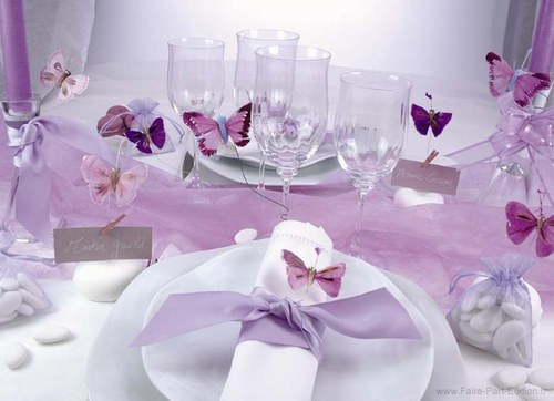 Purple Wedding Dreams..:o) - Jemne motylikove
