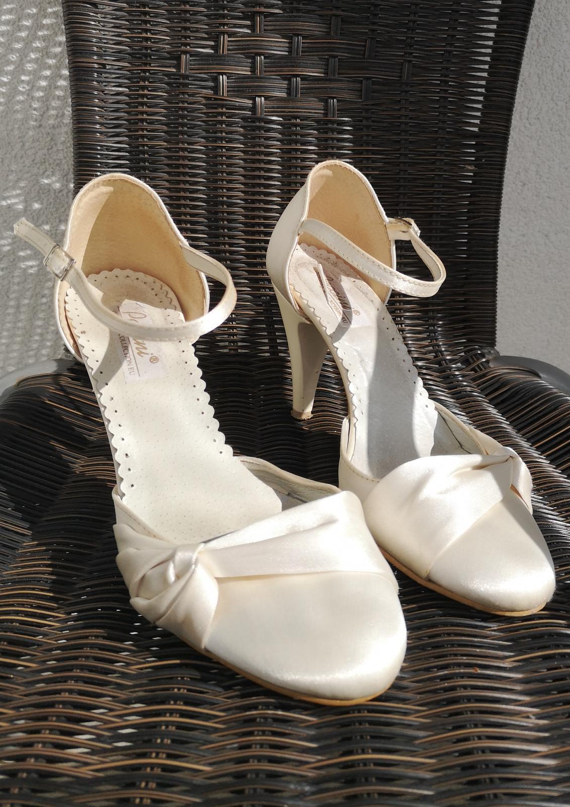 Luxusní svatební střevíčky - Obrázek č. 1