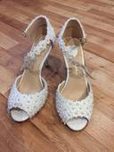 Svadobné topánky. , 40