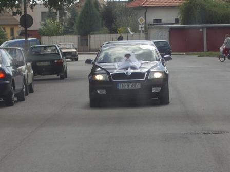 Miška{{_AND_}}Robko - naše svadobné auto