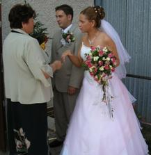 Gratulanti...(moja mama)