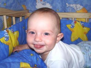 """tu je náš 7 mesačný Samuel """"Sami"""" Zoran"""