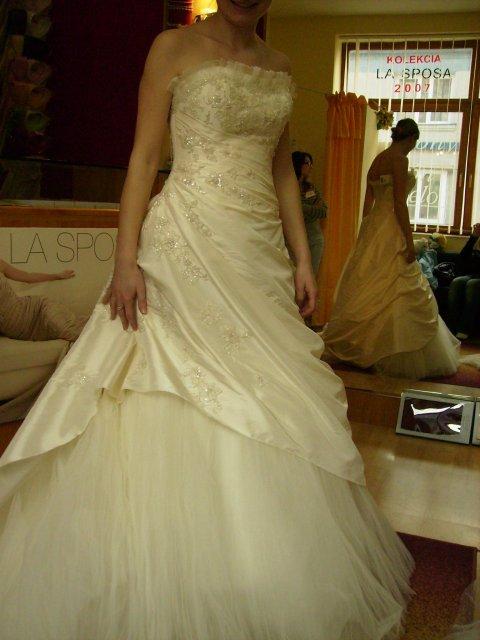 20. september 2008 - skúšané šaty v Po