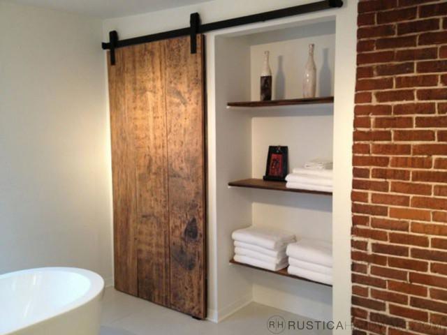 Obývák pro knihomoly - takhle nějak bude řešená nika s posuvnými dveřmi