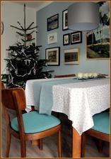 troška vánoční atmosféry a konečně i přečalouněné židle