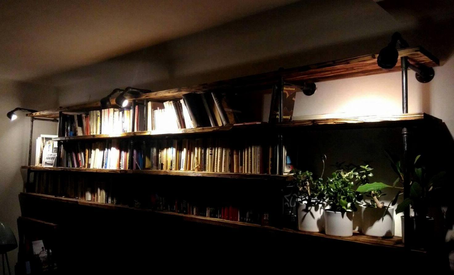 Obývák pro knihomoly - Obrázek č. 8