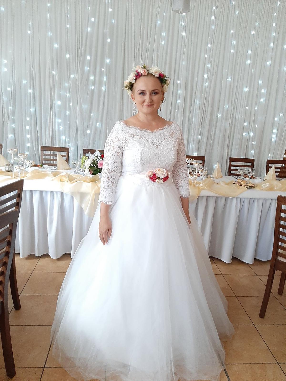 Svadobné šaty - komplet - Obrázok č. 3