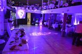 Nasvietenie priestoru LED reflektormi, miestnost Tučiansky dvor Koštany nad Turcom