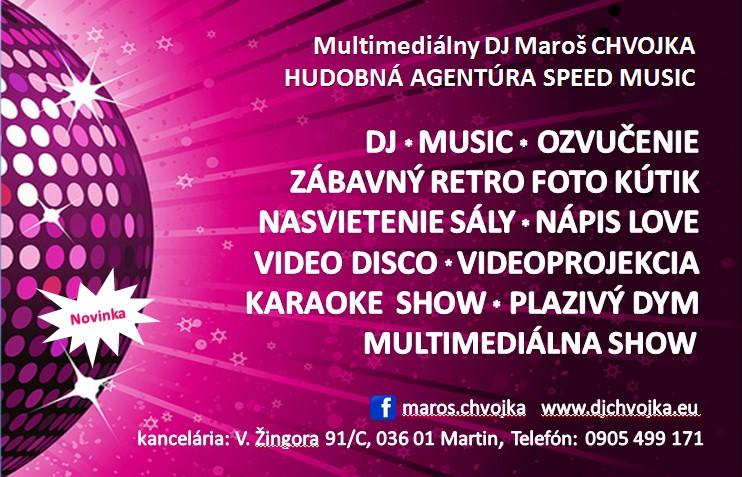 Zimná svadba DJ Maroš Chvojka - Multimedialny DJ Maroš Chvojka, foto kutik, LOVE, nasvietenie sály, Video disco, plazivý dym, karaoke show