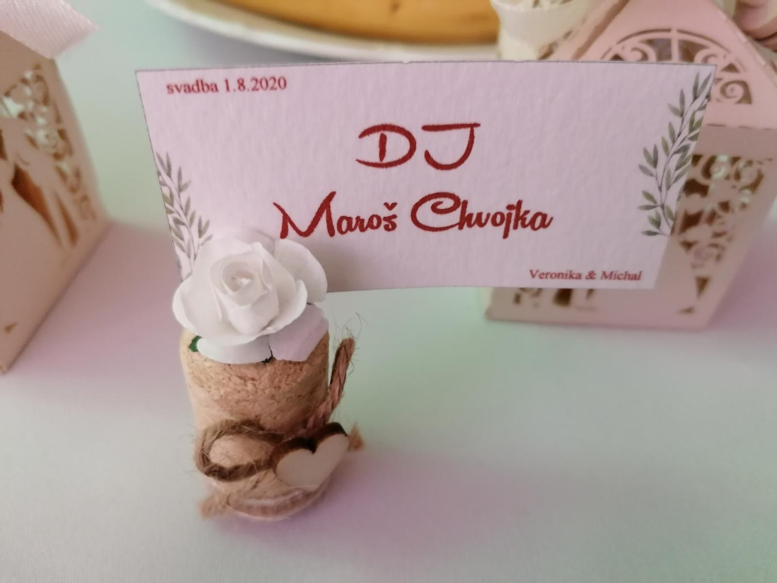 Výroba svadobných oznámení, pozvánok,... DJ Maroš Chvojka - Obrázok č. 3