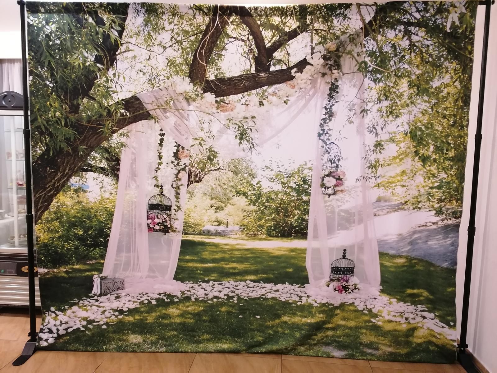 Svadobné FOTO steny na prenajom - Obrázok č. 4