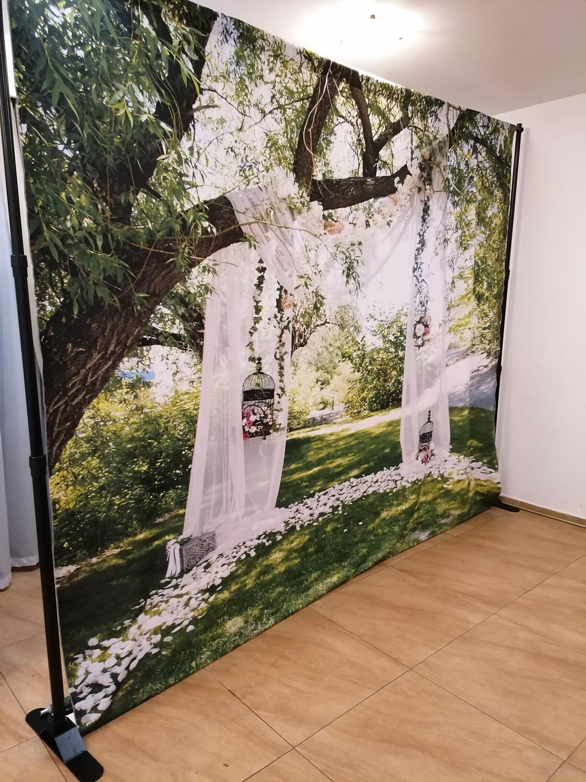Svadobné FOTO steny na prenajom - Obrázok č. 5
