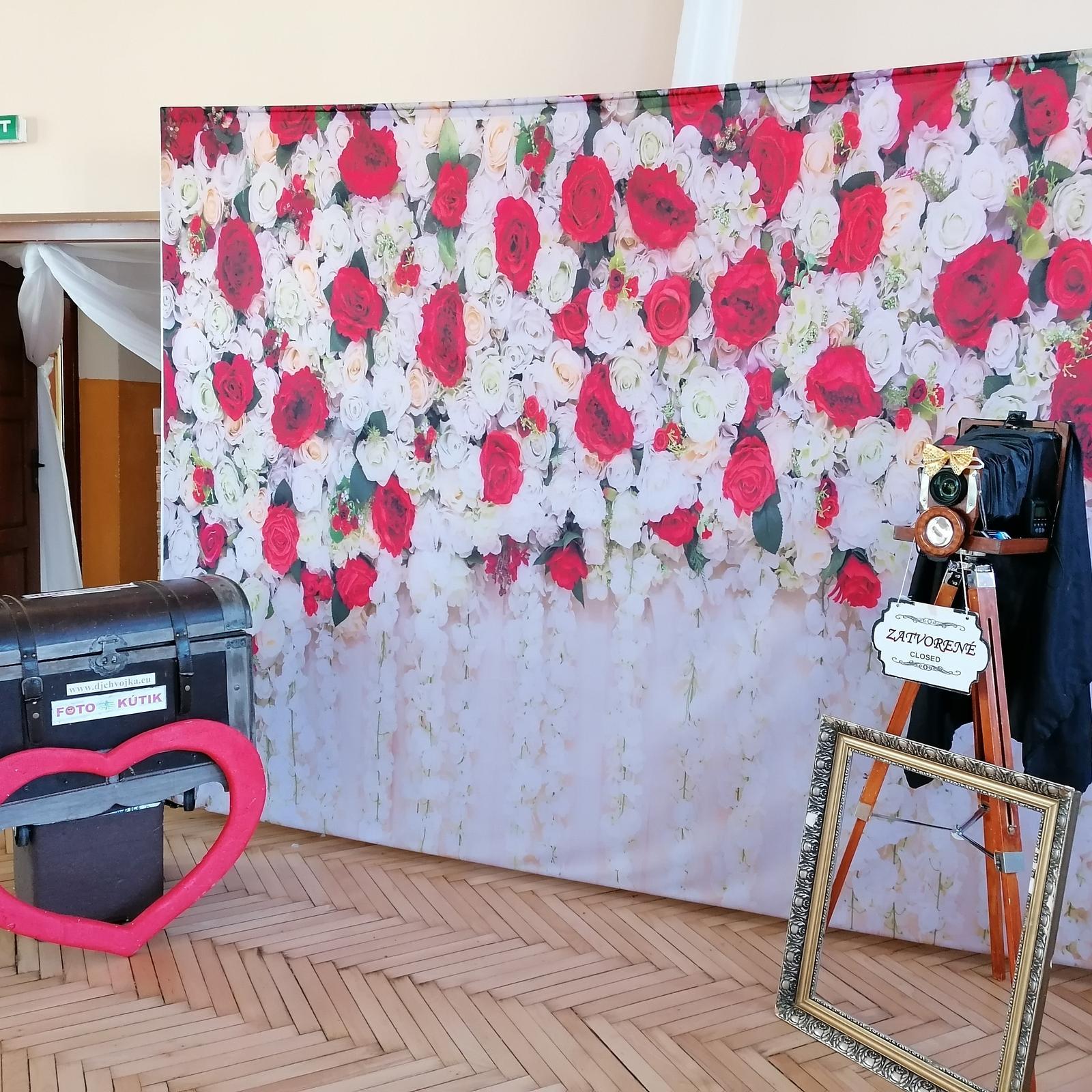 Svadobné FOTO steny, Foto kútik DJ Chvojka - Obrázok č. 13
