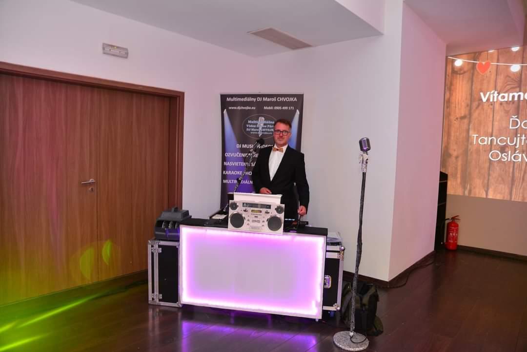 DJ na svadbu, oslavu, párty... DJ Maroš Chvojka z Martina - Obrázok č. 6