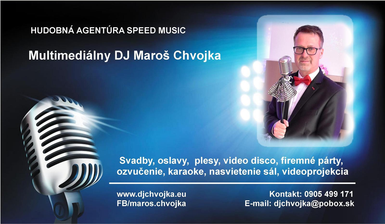 DJ na svadbu, oslavu, párty... DJ Maroš Chvojka z Martina - Obrázok č. 3