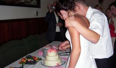 krájení dortu