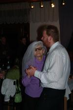 nevěsta po 60 letech, plně vitální, se švagrem