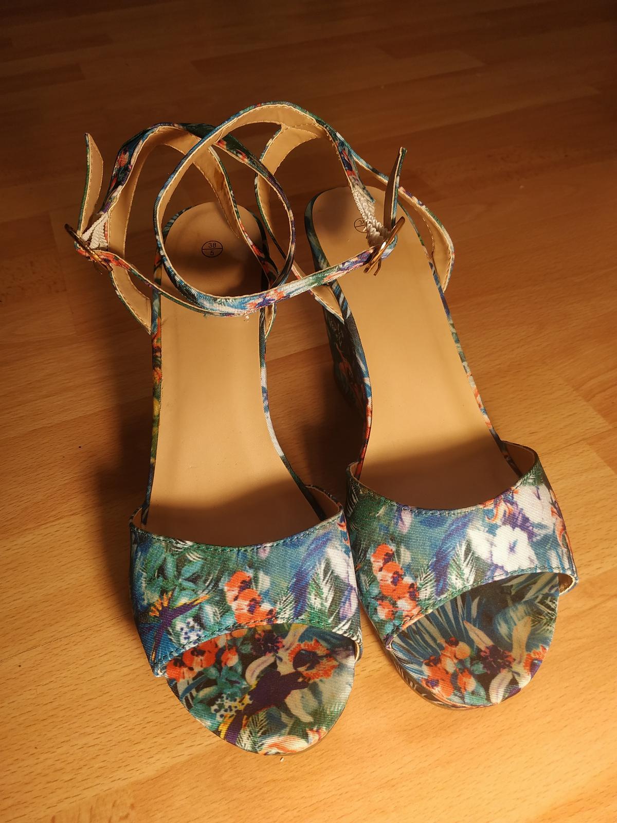 Letné sandálky - Obrázok č. 1