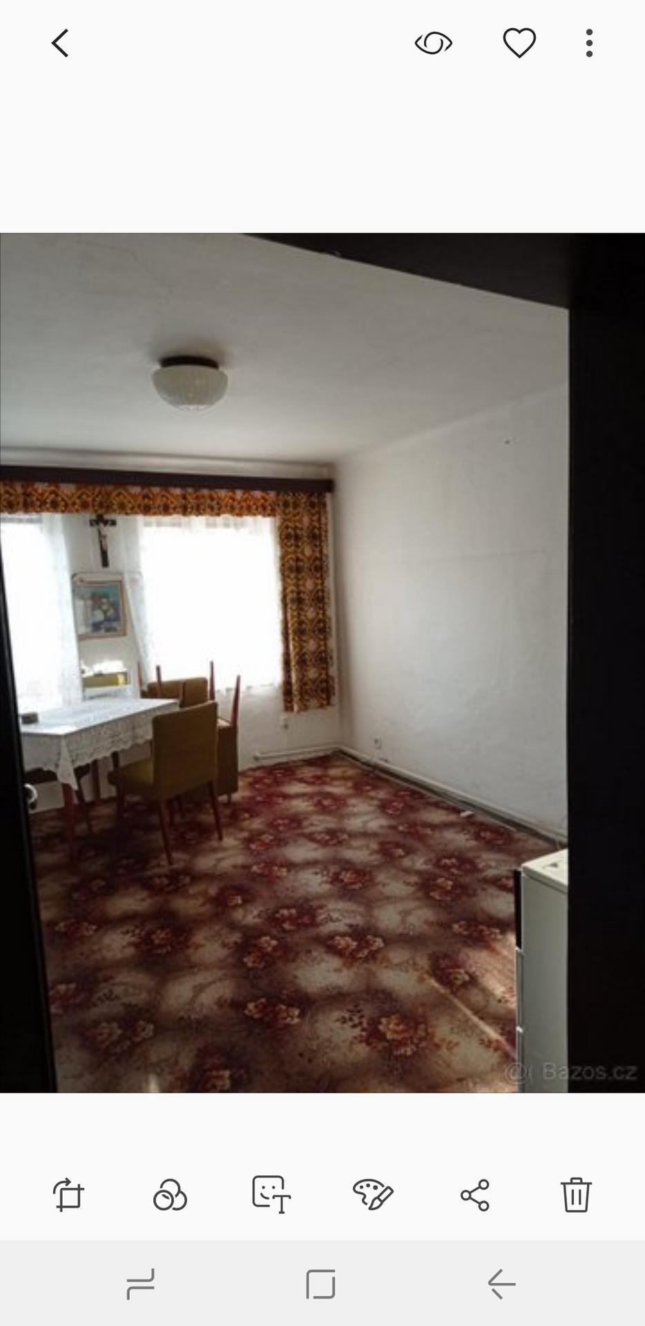 """Tak jedna místnost """" poléčená """" 😁 kdo zná, tak ví, že kancelář máme v podkroví u toho úžasného okna, teď ji stěhujem vedle na domeček - prostě dítě a kancelář doma nejdou dohromady 😂🙏 - Obrázek č. 1"""