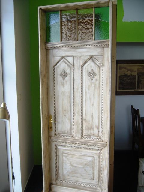 Vintage - nové vonkajšie dvere