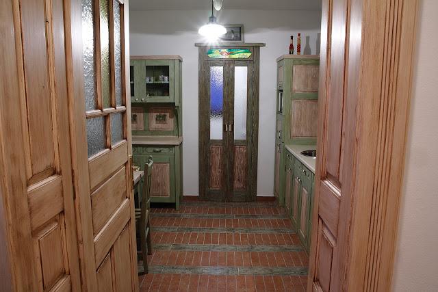 Vintage - kuchyna MZ ubytovanie
