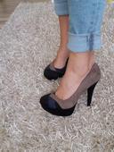 Semišové topánky, 37