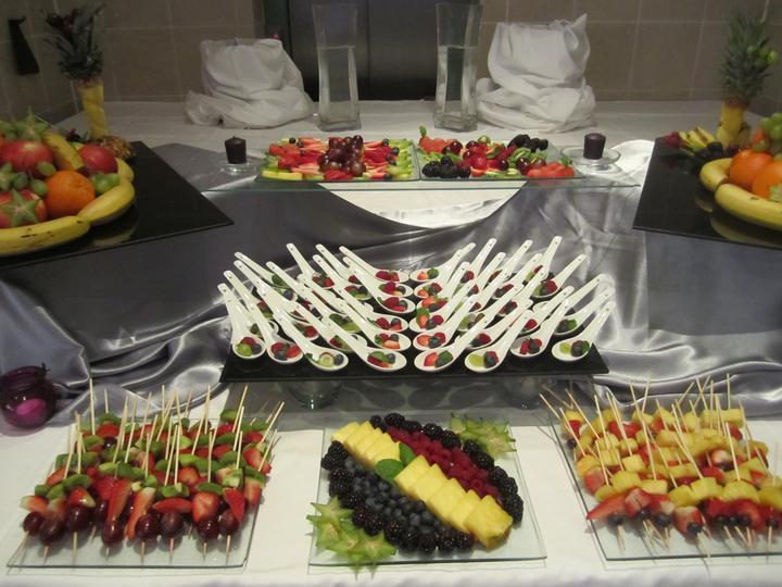 damhotel - Ovocný stôl