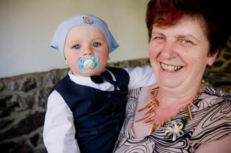 DČ - Radklova maminka s naším synem