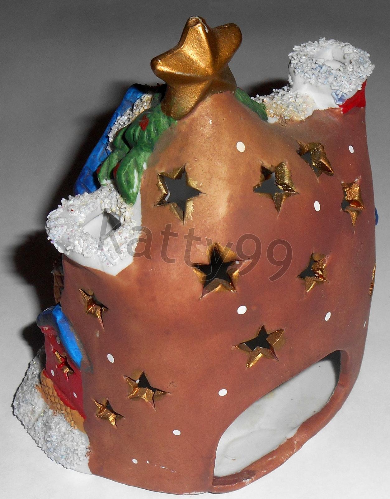 Vianočný domček na sviečku - Obrázok č. 2