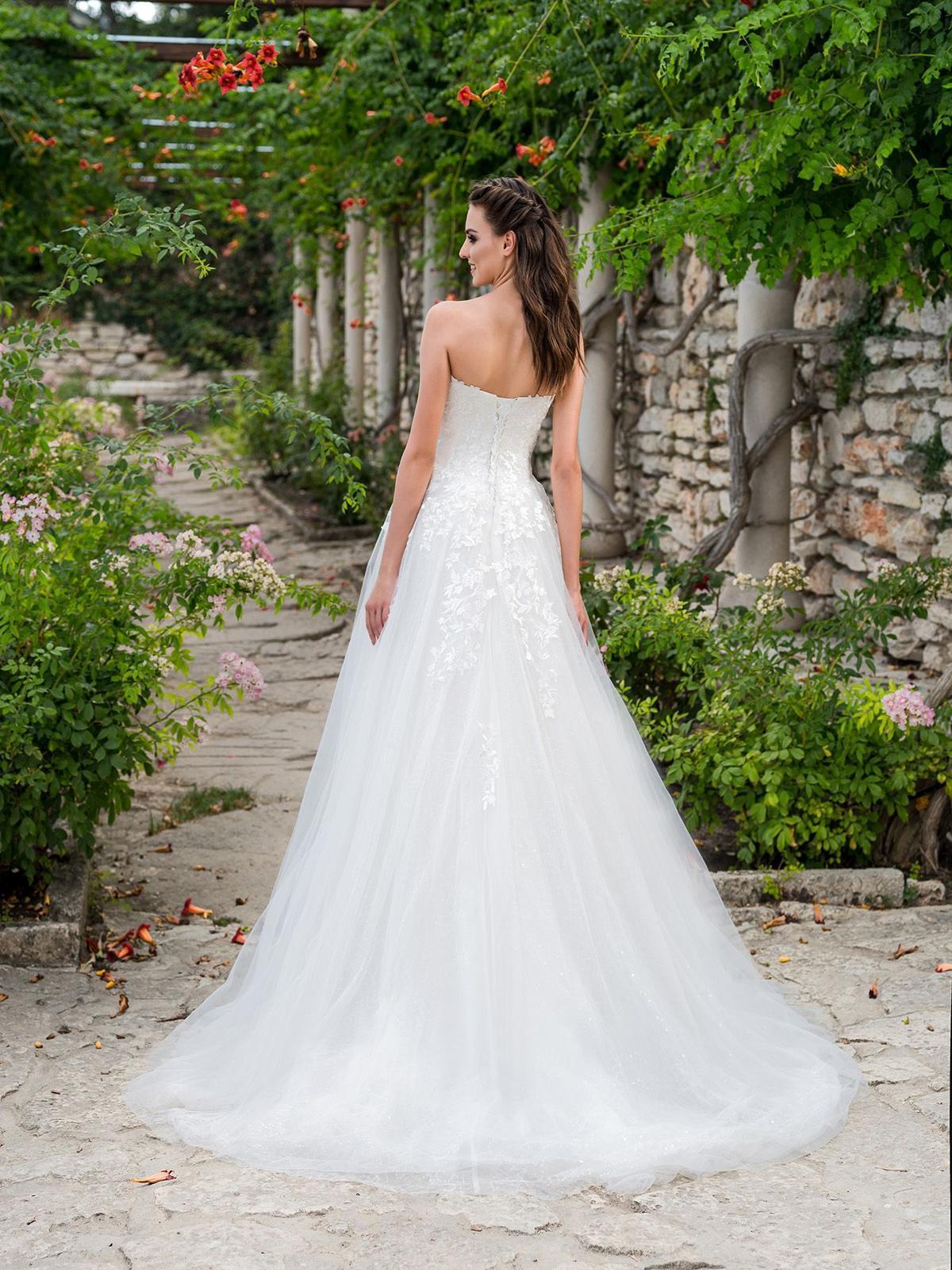 Svadobné šaty anglickej značky Hadassa 1x oblečené - Obrázok č. 2
