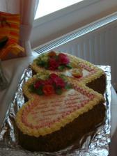 nádherná dorta od paní Vrbinčíkové