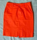 Oranžová sukňa, S