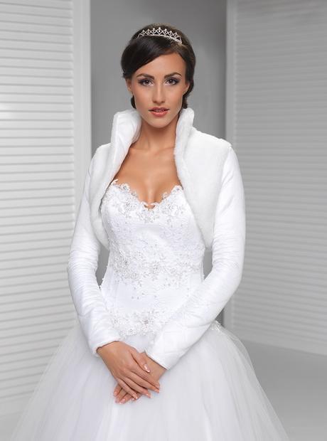 svatební bolerko, svatební kožíšek - Obrázek č. 1