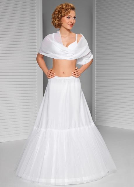 svatební spodnice jednokruhová s tylem - Obrázek č. 1