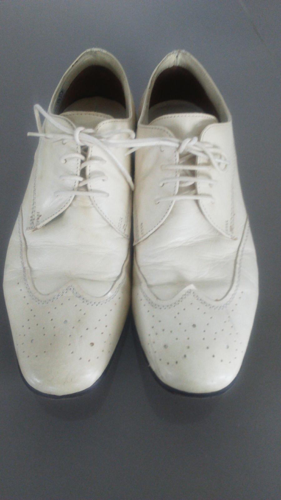 Stýlové svadobné topánky - Obrázok č. 1